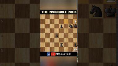 The Invincible Rook   #MyFirstShorts #Shorts #ChessTalk