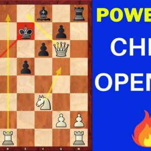 The Most Aggressive Chess Opening (+Halosar Trap)