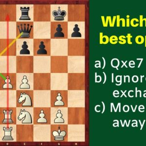 When to Exchange Pieces? | Chess Strategy