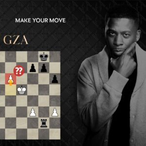 GZA Of Wu-Tang Clan Plays GM Maurice Ashley in Hennessy's Make Your Move Event!
