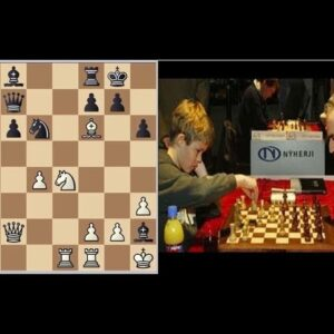 14-year-old Magnus Carlsen Missed Advantage Against Garry Kasparov!