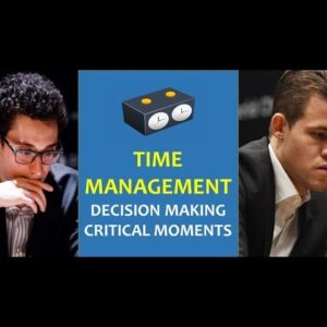 Why Caruana (and Carlsen) took so MUCH TIME to make a move? | World Championship 2018
