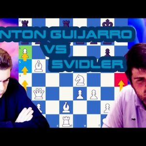 Anton Guijarro - Svidler | Skilling Open 2020 - Prelims