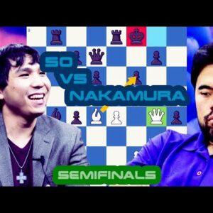 Black Friday | Wesley So vs Hikaru Nakamura | Skilling Open Quarterfinals | Matchday 1