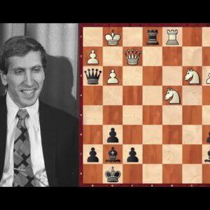Bobby Fischer's 21-move Brilliancy Against Byrne!