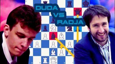 Botvinnik's setup | Duda vs Radjabov | Skilling Open  2020 Prelims | Rnd 8