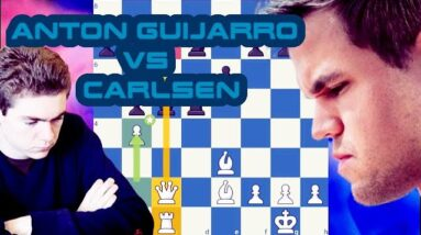David Anton Guijarro vs Magnus Carlsen | Skilling Open 2020 Prelims