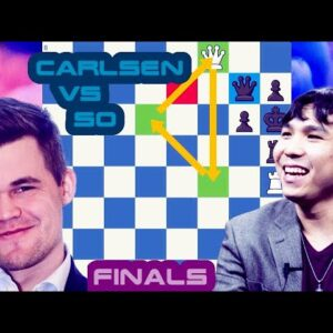 An epic duel | Magnus Carsen vs Wesley So | Skilling Open Finals | Matchday One