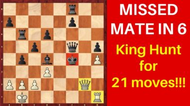 GM analyzes his old game (missed winning chances) | REAL FUN King Hunt!