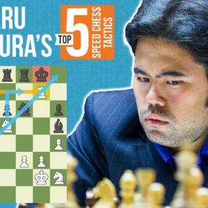 Hikaru Nakamura's Top 5 Speed Chess Tactics