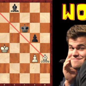 How an Unstoppable Carlsen Fooled a Grandmaster!