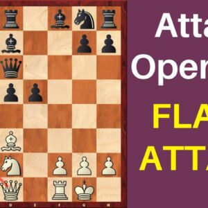 How to Attack an Open File and Win? | Flank Attack