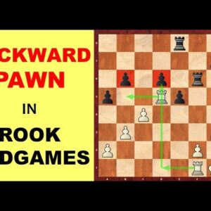 How to Attack/Defend Backward Pawns in Rook Endgames?