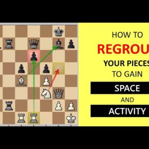 How to Regroup Your Pieces to Gain Space and Activity?