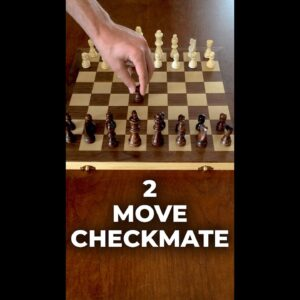 How To Win Chess in 2 Moves #Shorts