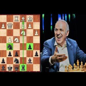 Kasparov's Masterpiece in Sicilian Najdorf