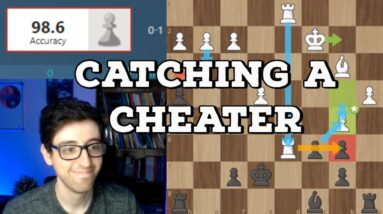 Kostya Catches A Cheater   ChessDojo Stream Highlights