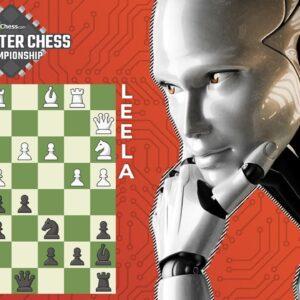 Leela Chess Zero's Double Sacrifice Attack! | Computer Chess Championship