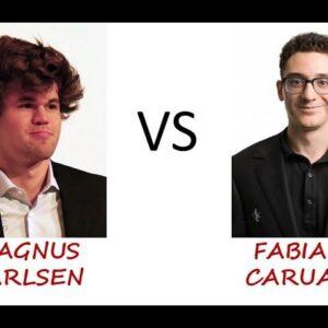 Magnus Carlsen's Exchange Sacrifice Against Fabiano Caruana!