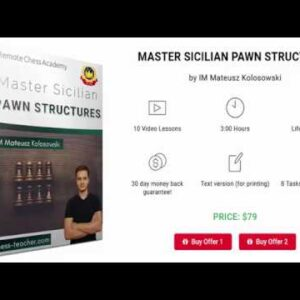 Master Sicilian Pawn Structures - Introduction