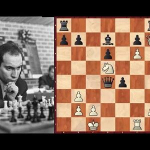 Mikhail Tal's Greatest Game vs British Women's Champion