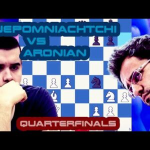 The Italian Job | Nepomniachtchi vs Aronian | Skilling Open Quarterfinals | Matchday 1