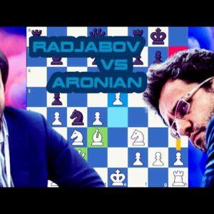 Underlying tension | Radjabov vs Aronian | Skilling Open  2020 Prelims | Rnd 7