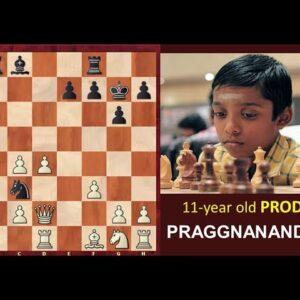Praggnanandhaa Masterpiece at Isle of Man