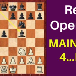 Reti Opening Main Variation 4…Bf5 | Opening Repertoire