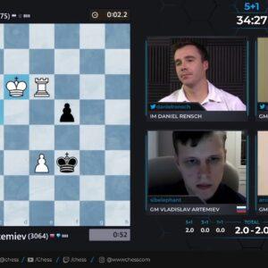SCC - Artemiev vs Giri - Hosts GM Hess and IM Rensch #speedchess