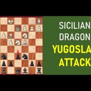Sicilian Dragon: Black's Fantastic Win Against the Yugoslav Attack
