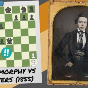 The Best Morphy Game You've Never Seen