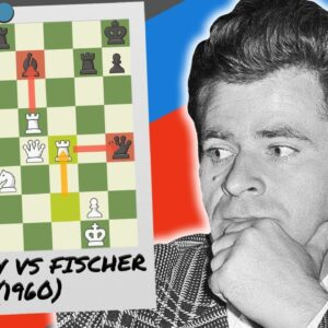 The Time Spassky Beat Fischer Using The King's Gambit!