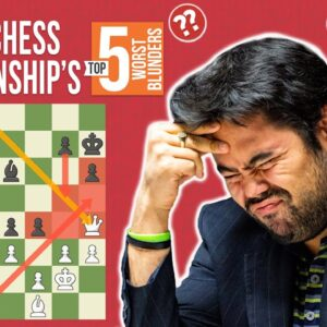 The Top 5 Blunders in Speed Chess Championship History
