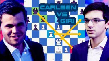 The twitter rivals | Carlsen vs Giri | Skilling Open 2020 - Prelims | Round 9