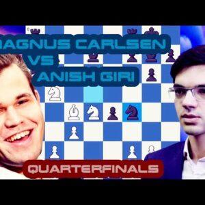Same situation in reverse | Carlsen vs Giri | Skilling Open Quarterfinals | Matchday 2