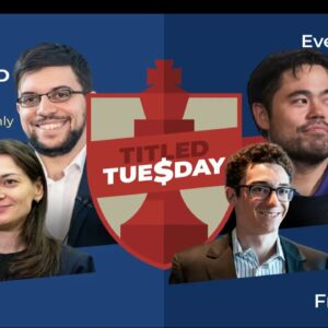 Titled Tuesday with GM Simon WIlliams