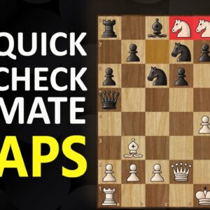 6 Checkmate Traps | Chess Opening Tricks to Win Fast | Short Games, Moves, Tactics & Ideas