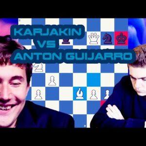 Nasty move! | Karjakin vs Anton Guijarro | Skilling Open 2020 - Prelims | Round 12