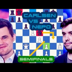 One blunder is enough | Magnus Carlsen vs Ian Nepomniachtchi | Skilling Open 2020 - Semifinals