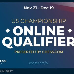 US Championship Online Qualifier - 2001-2400 Swiss - Host NM Canty
