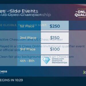 US Championship Online Qualifier - U1600 Swiss - Host NM Canty