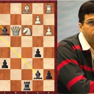 Vishy Anand's Immortal Chess Game! | Tata Steel Chess 2013
