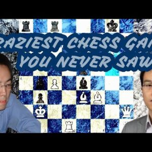 Craziest game of chess you've never seen! | Ni Hua vs Le Quang Liem | Asian Continental 2012