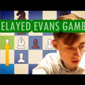 A delayed Evans Gambit? Game of the Year Candidate by Daniil Dubov
