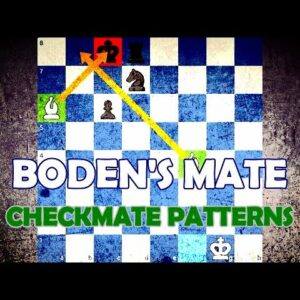 Boden's Mate - Chess Checkmate Patterns