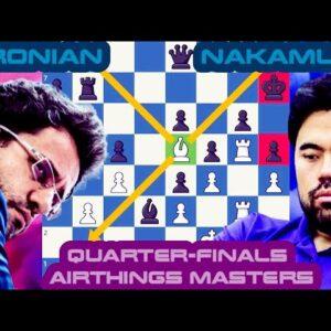 London Masterclass | Levon Aronian vs Hikaru Nakamura | Airthings Masters Quarterfinals