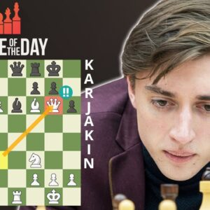 Dubov Wins Chess Game Of The Year! | Russian Superfinal