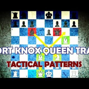 Fort Knox Queen Trap - Chess Tactical Patterns