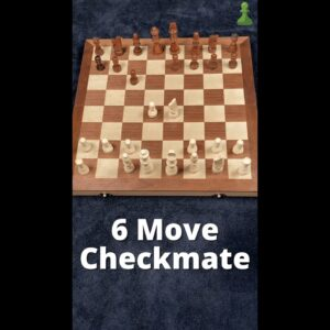 How to Checkmate Your Opponent in 6 Moves #Shorts